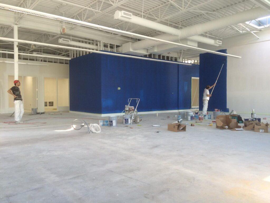 Interior Painting - Large hall