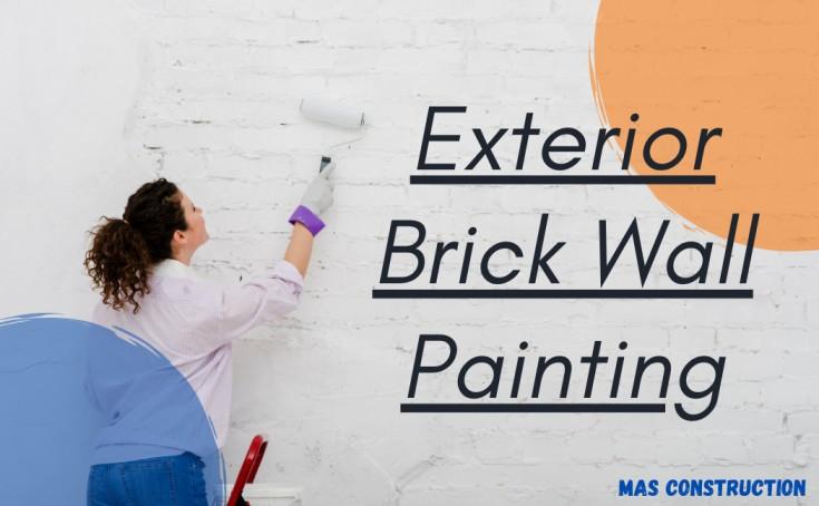 brick wall painting toronto