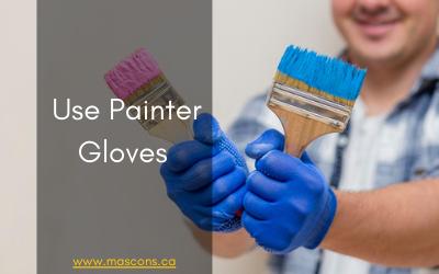 painter gloves