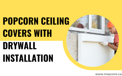 Popcorn-ceiling-covers-with-drywall-installation