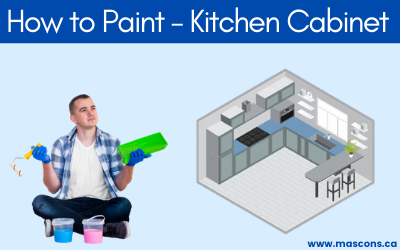 Interior painting - How-to-Paint-kitchen-cabinet