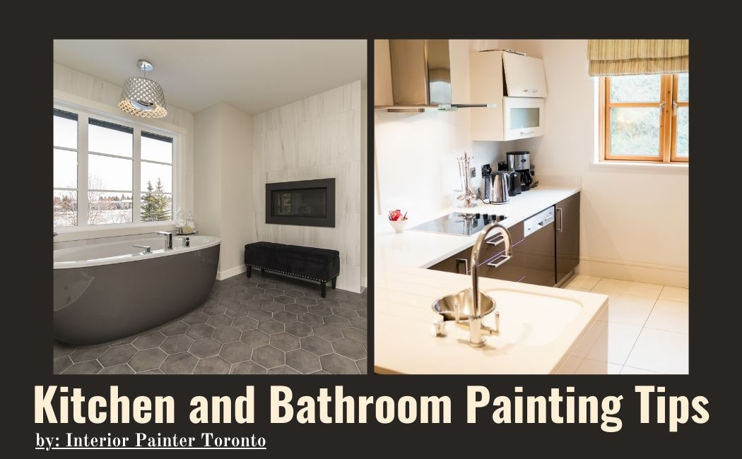 Interior painter for kitchen and bathroom