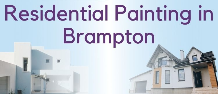 Painting in Brampton - Residential projects