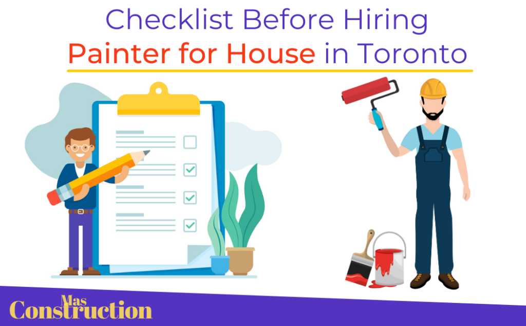 Hiring-Painter-for House-in-Toronto