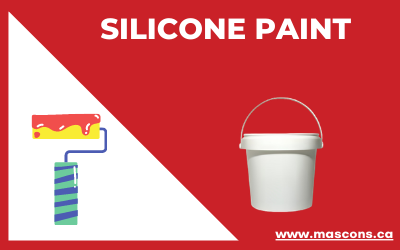 Silicone-paint