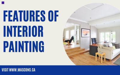 Features of interior painting