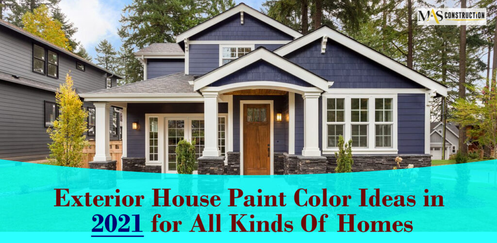 Exterior House Paint options in Toronto